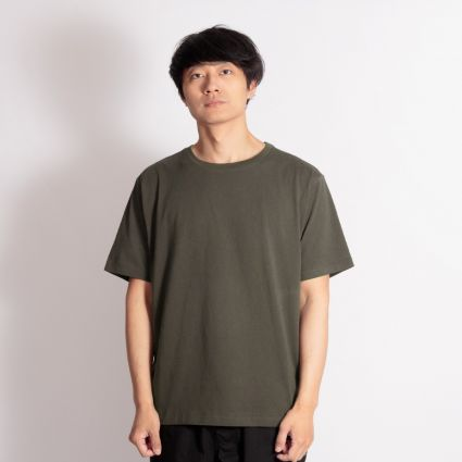 Satta Organic Cotton T-Shirt Washed Black