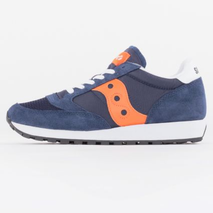Saucony Jazz Vintage Navy/Orange1