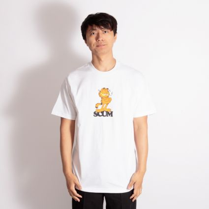 SCUM Garfield T-Shirt White