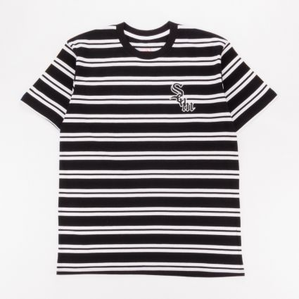 Scum Striped Up T-Shirt Black1