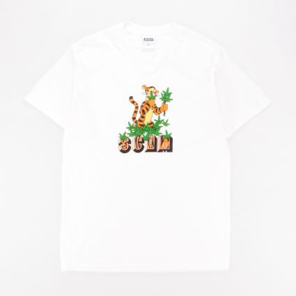 SCUM Tiger T-Shirt White1