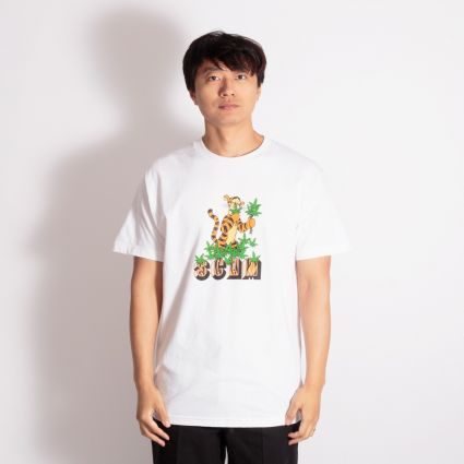 SCUM Tiger T-Shirt White