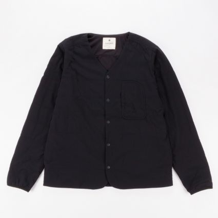 Snow Peak Flexible Insulated Cardigan Black1