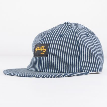 Stan Ray Ball Cap Hickory Stripe1