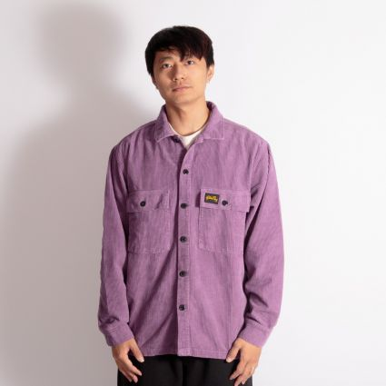 Stan Ray Cord CPO Shirt Crushed Purple