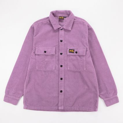 Stan Ray CPO Shirt Crushed Purple1
