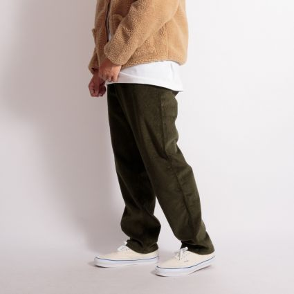 Stan Ray Recreation Cord Pant Olive Wide Wale Cord