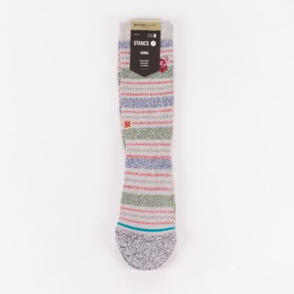 Stance Leslee Staple Socks Grey