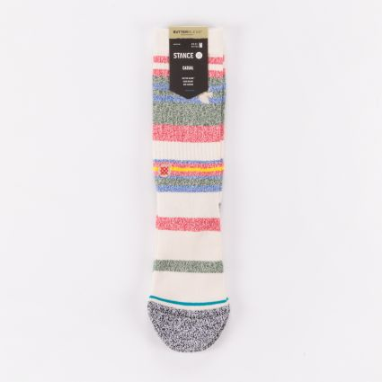 Stance Munga Staple Socks Natural