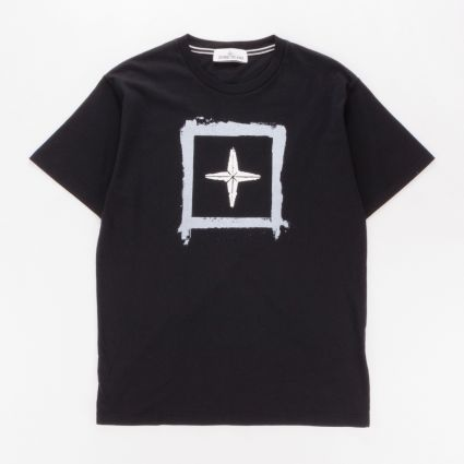 Stone Island 2NS81 SS T-Shirt Black1
