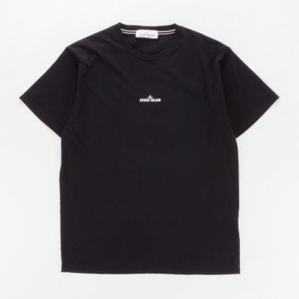 Stone Island 2NS85 SS T-Shirt Black1