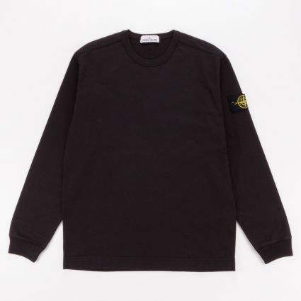 Stone Island Flat Bottom Sweatshirt Black1