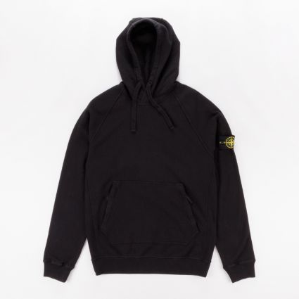 Stone Island Hooded Sweatshirt Black1