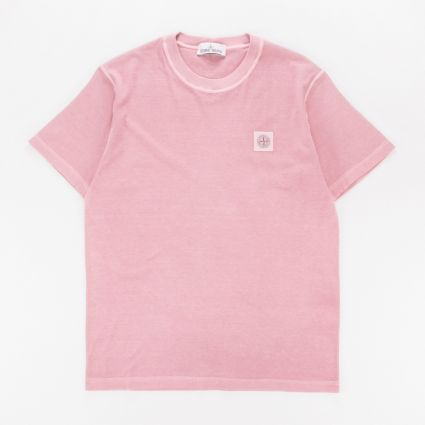 Stone Island SS Patch T-Shirt Rose Quartz1