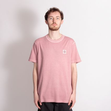 Stone Island SS Patch T-Shirt Rose Quartz