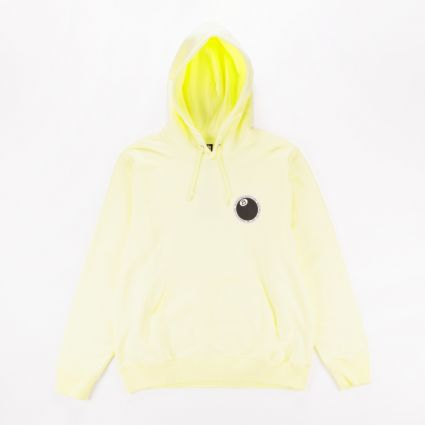 Stussy 8 Ball Dot Hoodie Pale Yellow1