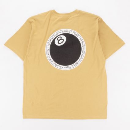 Stussy 8 Ball Dot T-Shirt Khaki