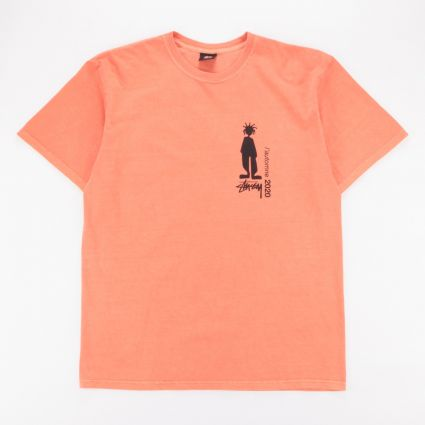 Stussy Delusion Pig. Dyed T-Shirt Pale Orange1
