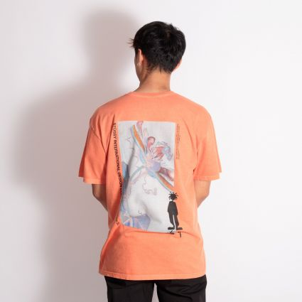 Stussy Delusion Pig. Dyed T-Shirt Pale Orange