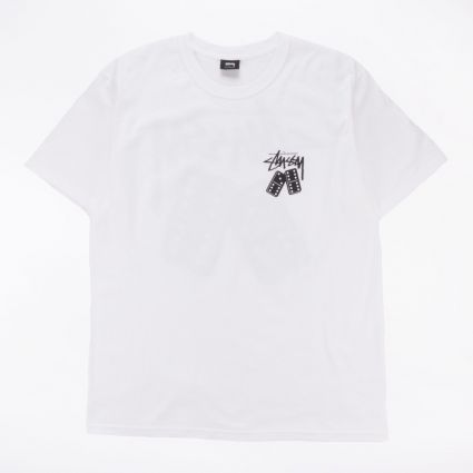 Stussy Dominoes T-Shirt White1
