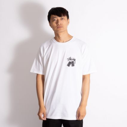 Stussy Dominoes T-Shirt White
