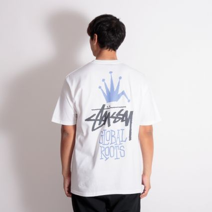 Stussy Global Roots T-Shirt White