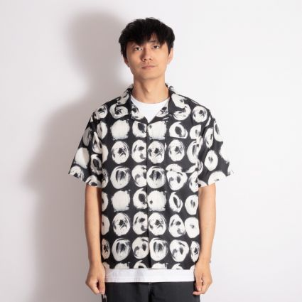 Stussy Hand Drawn Dot Shirt Black