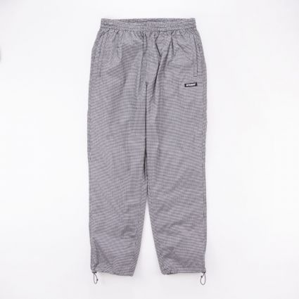 Stussy Houndstooth Track Trouser Black1