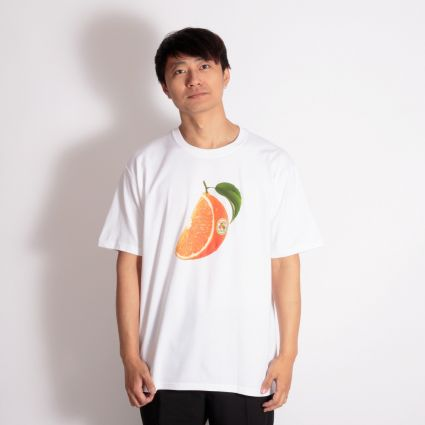 Stussy Orange Slice T-Shirt White
