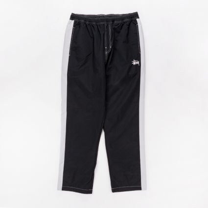 Stussy Panel Track Relaxed Pant Black1