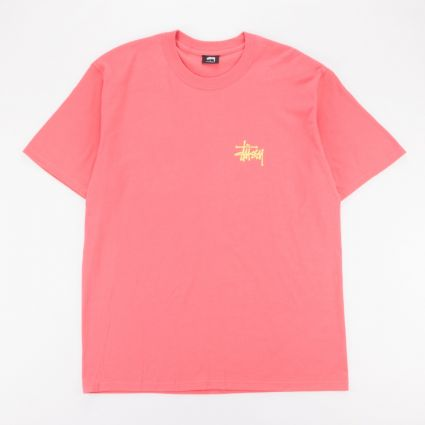 Stussy Peace Pot T-Shirt Pale Red1