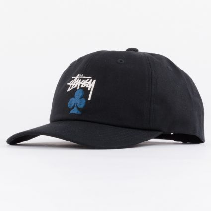 Stussy Stock Club Low Pro Cap Black1