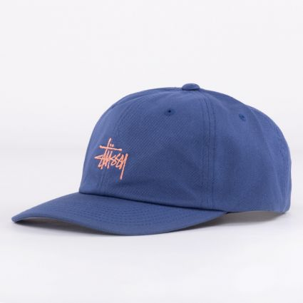 Stussy Stock Low Pro Cap Blue