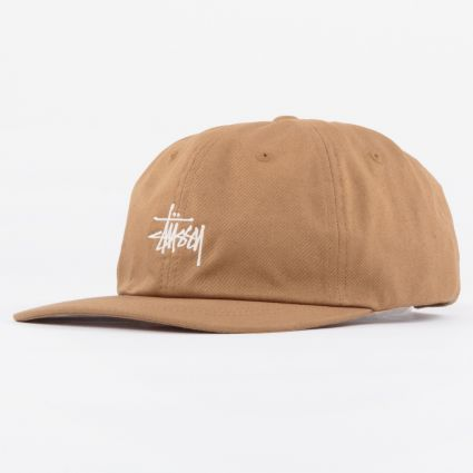 Stussy Stock Low Pro Cap Light Brown1