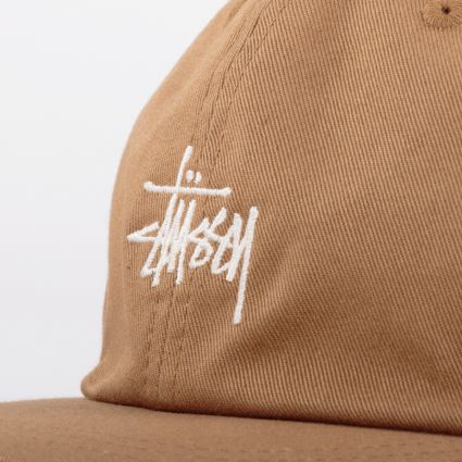 Stussy Stock Low Pro Cap Light Brown