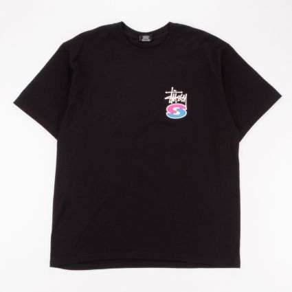 Stussy Super S T-Shirt Black1