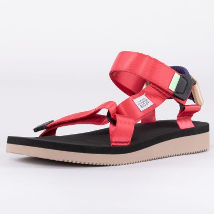 Suicoke DEPA-Cab Sandals Red/Black OG-022Cab-119