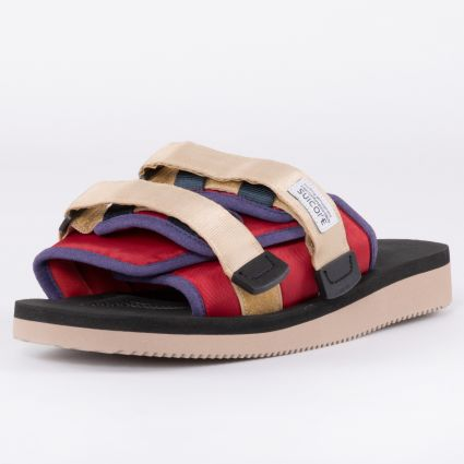 Suicoke Moto-Cab Sandals Red/Black OG-056Cab-119