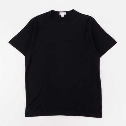 Sunspel SS Classic T-Shirt Black