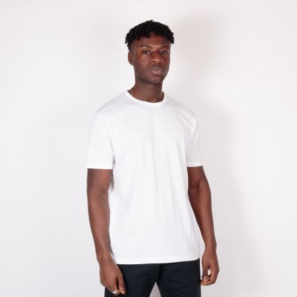 Sunspel SS Classic T-Shirt White