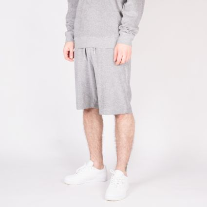 Sunspel Towelling Short Grey Melange