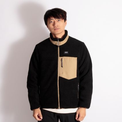 TAION Down × Boa Reversible Jacket Beige/Black
