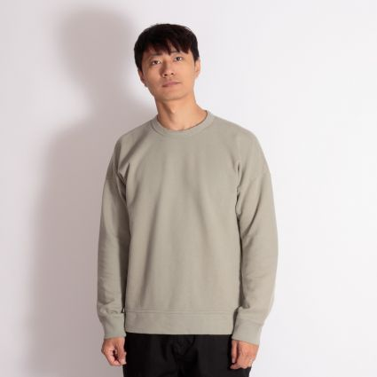 TEN C Knit Sweatshirt Sage Green