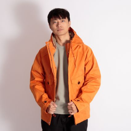 TEN C Tempest Anorak Orange