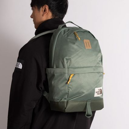 The North Face Daypack Laurel Wreath Green/Thyme/Arrowwood Yellow