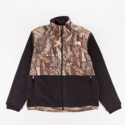 The North Face Denali 2 Jacket TNF Black/Kelp Tan Forest Floor Print1