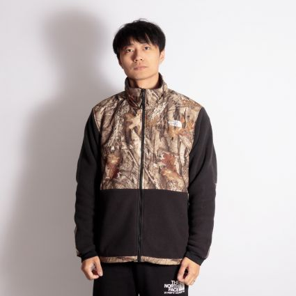 The North Face Denali 2 Jacket TNF Black/Kelp Tan Forest Floor Print