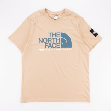 The North Face Fine Alpine T-Shirt 2 Hawthorne Khaki1