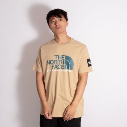 The North Face Fine Alpine T-Shirt 2 Hawthorne Khaki