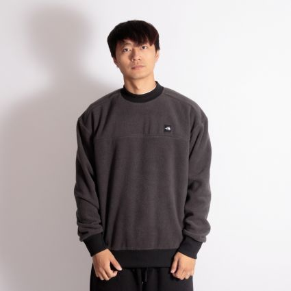 The North Face Fleeski Crew Sweatshirt Asphalt Grey